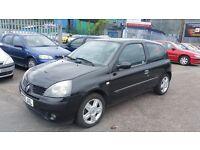 2005 (05 Reg) Renault Clio 1.2 Extreme 3dr, £595, Mot'd til 06/03/17 + 3 Months Warranty