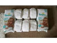 152 Pampers Sensitive nappies