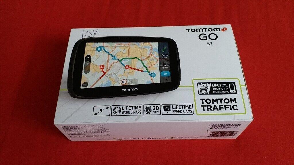 nd New TomTom GO 51,GPS Sat Nav 5''Display Free 3D Worldwide Maps for Sat Nav Worldwide Maps on sat prep book, sat score chart 2014, sat cartoon,