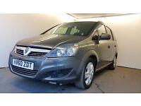 2010 | Vauxhall Zafira Exclusiv 1.7 CDTI | FRONT & BACK SENSORS | 1 YR MOT |1 FORMER KEEPER
