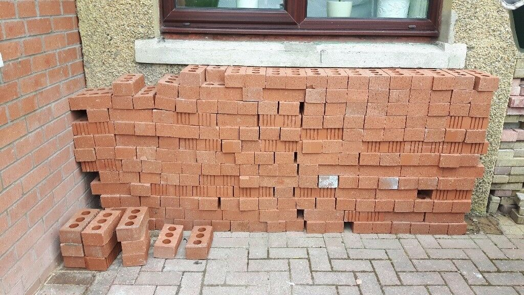 Brand new 423 RED WIENERBERGER BRICKS
