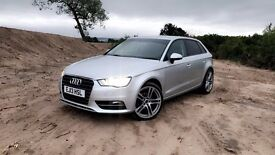 "2013,13 REG AUDI A3 2.0 TDI, Stage 2 Remap, 19"" New Staggered Alloys, Rieger Kit"