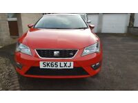 SEAT Leon FR 1.4TSI Eco DSG, Technology Pack, FSSH with Half Leather and genuine 15k miles