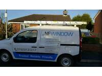 NF window cleaning