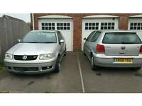 Breaking two vw polo gti's