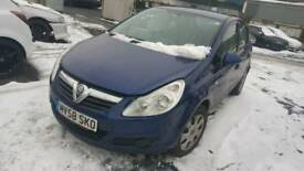 Vauxhall corsa d 1.3 cdti breaking for spares 07-10