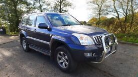 HALLOWEEN BARGAIN TOYOTA LAND CRUISER 3.0 D4D LC3 8 SEATER PRICE TO SELL £4495 OVNO