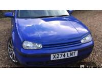 Vw golf mark 4 front grill and light cover
