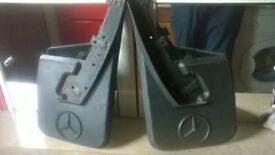 Mercedes E90 Mud flaps