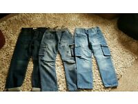 3 pairs boys jeans age 9/10 years all in excellent condition
