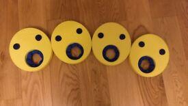 Zogg float disks armbands 2-6yrs set of 4