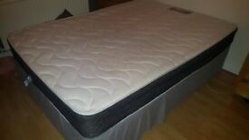 £30 Double Bed (Divan and Matress) Free to collect!