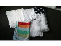 baby blankets, next, John lewis £ 5 each