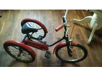 1970s kids tricycle