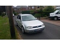 Volkswagen Golf 2002 1.8 GTI 20V Turbo 3 door with long mot ,Quick to drive px welcome