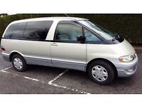 Chauffeur with 7 seater MPV for all day hire
