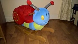 Mamas & Papas Musical Snail Rocker