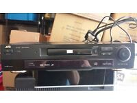 JVC DVD PLAYER ( NO REMOTE )