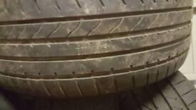 235/55/18 104y Goodyear tyres x4