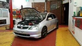Honda civic type r ep3 turbo px swap