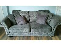 Luxury 3 & 2 seater sofa for sale.
