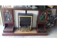 Foresale Electric fire and surround.