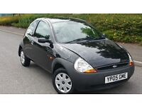 BLACK FORD KA 2005/10 MONTHS MOT