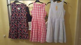 3 x Age 9-10 years BMWT GIRLS DRESSES