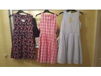 3 x Age 9-10 years BMWT GIRLS DRESSES