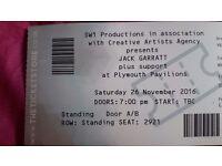 Jack garrett tickets, Plymouth pavilions