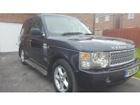 Range rover vogue 3.0td6 .2004, auto. M.O.T January 2018 good condition.