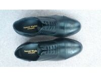 62924f073bf Brand New Mens Samuel Windsor Black Leather Brogues Size 7.