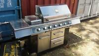 Like new stainless natural gas BBQ