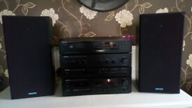 Music stereo system separate