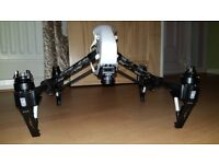 DJI Inspire 1 with 5 batteries low use