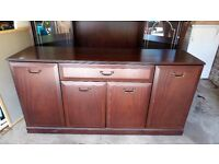 Dining room sideboard and display unit