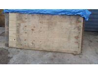 Plywood 18mm -USED