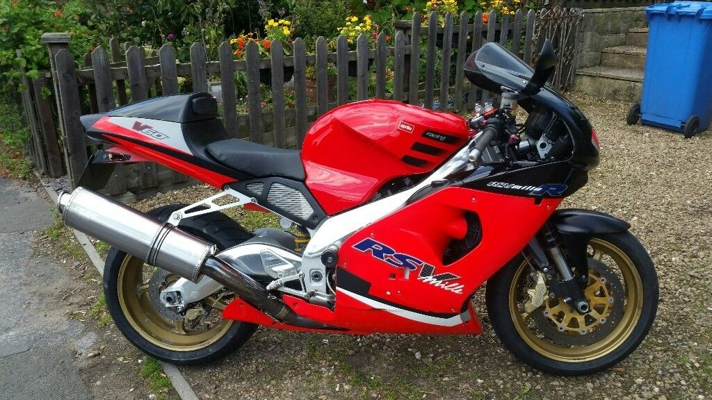 SWAP OR SELL GREAT 2002 APRILIA RSV1000 FOR BOBBER OR BIG TRAIL BIKE