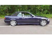 BMW evolution M3 1996 - 3.6 convertible 1 years mot in Purple