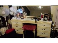 Large White dressing table