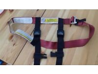 children's airplane safety harness