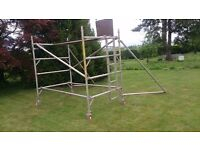 2 x Boss Youngman Scaffold Towers