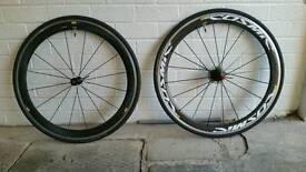 Mavic cosmic carbone clincher wheels
