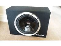 Sony Xplod Subwoofer Extremely Loud 1000W including Amp