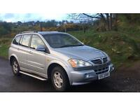 2006 SSANGYONG KYRON SE AUTO 2.0 DIESEL ** FOR PARTS OR REPAIR **