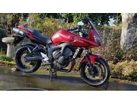 Yamaha fz6s2 2007 vgc only 6400 miles fsh may px