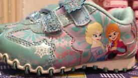 Little girls trainers and sandals size 7