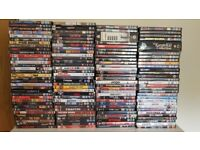 Selling many movies on DVD for 3 pounds each.
