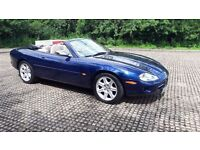 JAGUAR XK8 CONVERTIBLE AUTOMATIC 68 K WITH HISTORY AND PRIVATE PLATE