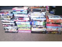 bundle of 77 dvds MAKE AN OFFER NEED GONE (50 ISNT THE PRICE )